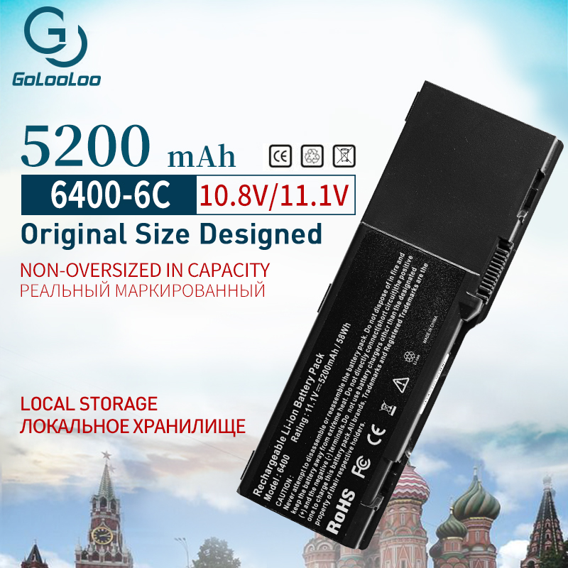 5200mAh 6 Cells <font><b>Battery</b></font> For <font><b>dell</b></font> <font><b>Inspiron</b></font> 6400 E1505 <font><b>1501</b></font> Latitude 131L Vostro 1000 451-10339 451-10424 JN149 KD476 PD942 PD945 image
