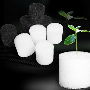 50Pcs/Set Soiless Hydroponic Gardening Plant Tools Planted Sponge Vegetable Cultivation System 32x30mm 45x30m Optional image