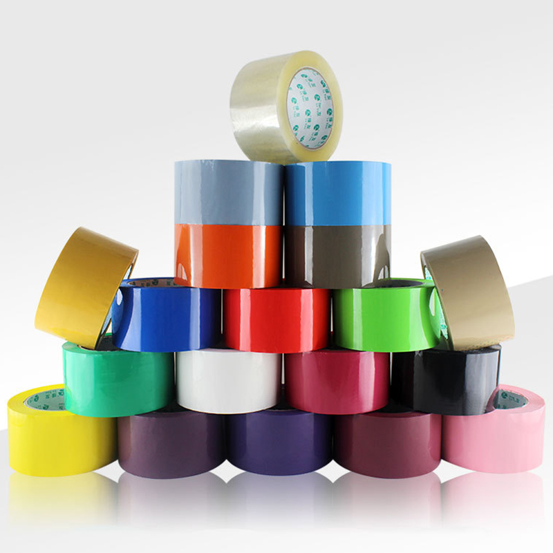 6cm X 90m BOPP Tape 19 Colors Adhesive Tapes Logistics Courier Packaging Tape Sealing Tapes
