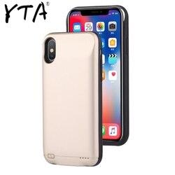 Quente 10000 mah caso carregador de bateria para iphone 6 6s 7 8 plus power bank caso de carregamento para iphone x xs max xr 6 s bateria