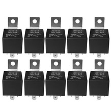 10 Pcs 5 Pin 12V Relay Switch (SPDT) (30/40 Amp) 12 Volt Automotive Relay for Automotive Fans(China)