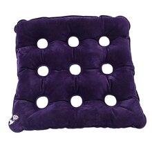 Воздушная надувная подушка-сиденье сброс давления анти бедра надувные противопролежневые Матрасы для инвалидной коляски/автомобиля/офиса длительного сидения