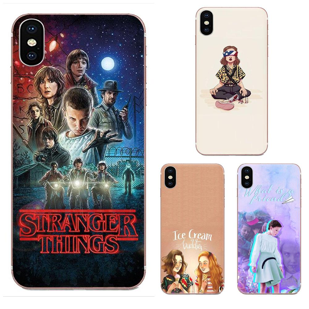 For Xiaomi Redmi Note 2 3 3S 4 4A 4X 5 5A 6 6A Pro Plus Soft Protector <font><b>Cases</b></font> Hot Stranger Things image