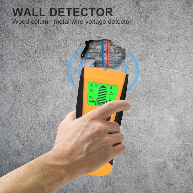 3 In 1 Portable Wall Stud Sensor Professional Wire Cable Tracker Metal Pipe Locator Detector Tester Line Tracker Homeimprovement