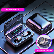 Buy TWS Wireless Earphone 8D Stereo Bluetooth 5.0 Mini Touch Earbuds LED Display With 1200mAh Power Bank HIFI HD Sport Headset directly from merchant!