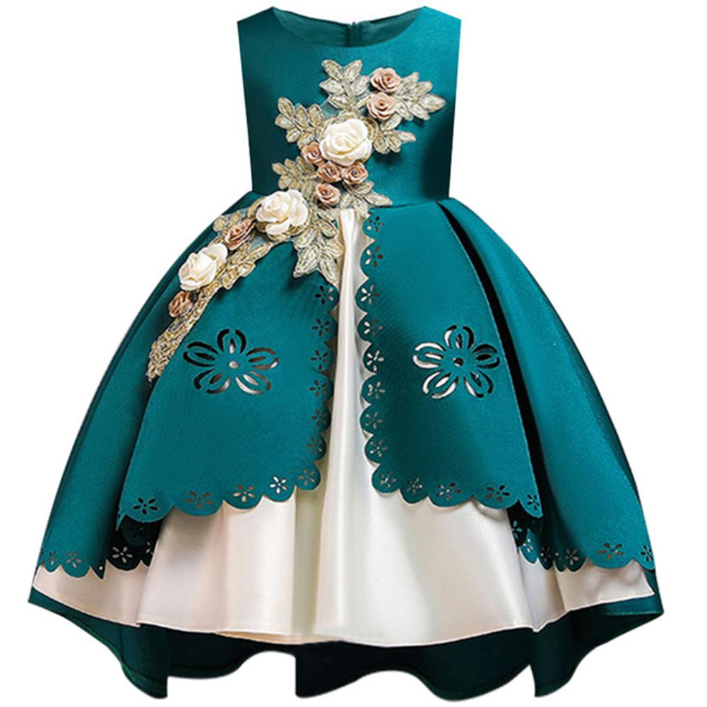 Kids Girls Mesh Formal Princess Dress for Party Festival Costume in Dresses from Mother Kids