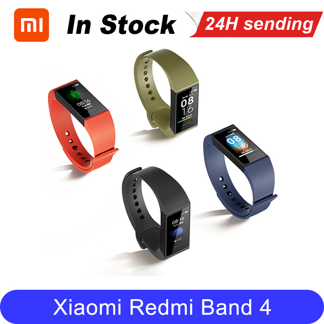 Xiaomi Redmi Band Smart Heart Rate Sport Monitor Bluetooth 5.0 Waterproof Bracelet Touch Large Color Screen Wristband