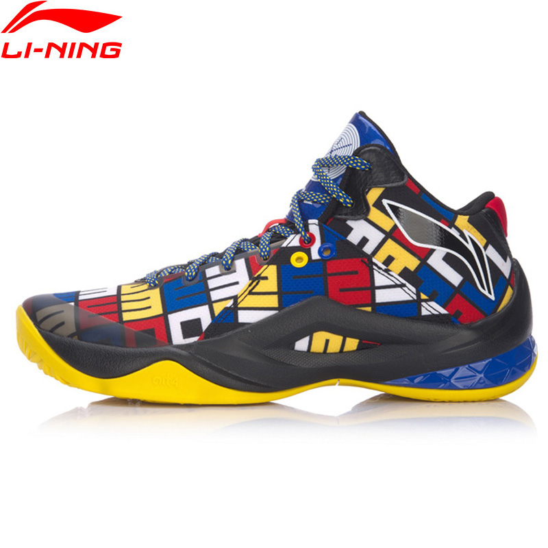 Li-Ning Men ALL IN TEAM 4 Wade Professional Basketball Shoes Cushion Breathable LiNing CLOUD Sport Shoes Sneakers ABAM013 XYL290