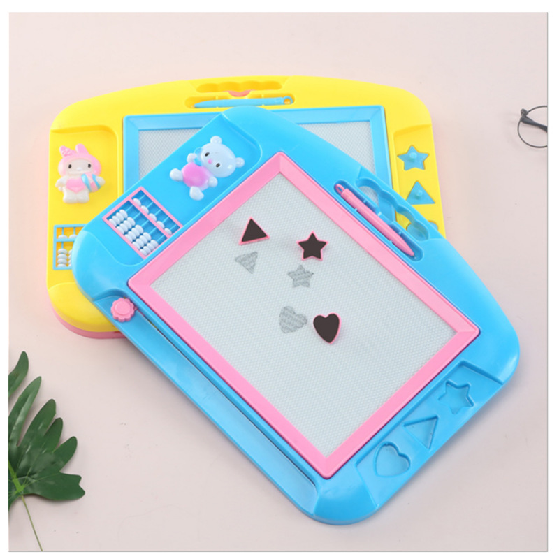 Children ENLIGHTEN Magnetic Drawing Board DIY Painted Graffiti Writing Board Color Early Childhood Educational Toy