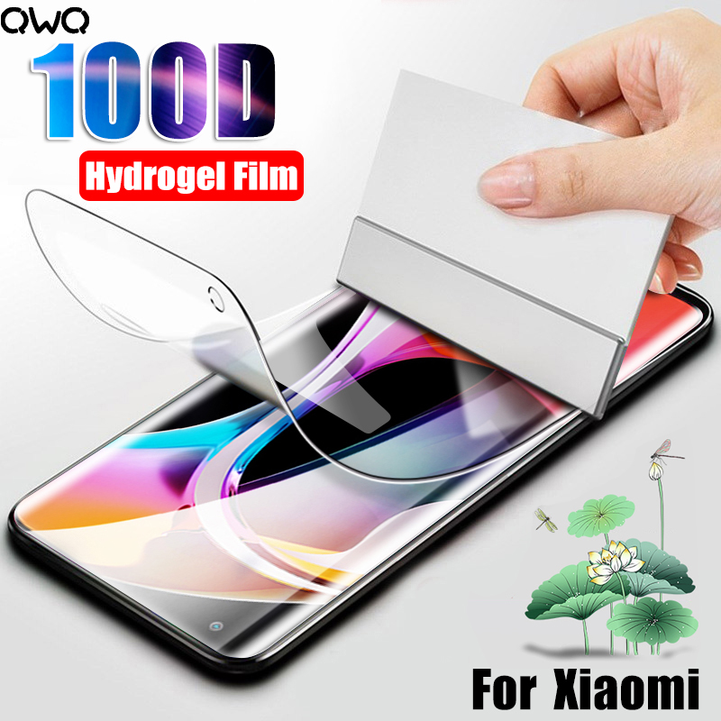 100D полное покрытие Гидрогелевая пленка для Xiaomi Redmi 10 9T Note 10 Pro Защита экрана для Xiaomi mi 9 8 A3 Lite 9 se пленка не стекло|Защитные стёкла и плёнки|   | АлиЭкспресс