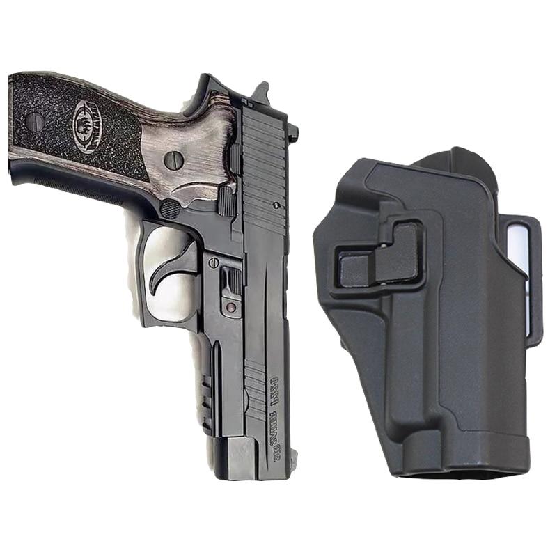 Tactical Airsoft Pistola della Custodia per Armi per SIG SAUER P226 P228 P229 Sinistra Mano Destra Pistol Holster Paddle Belt Holster Caccia Accessori