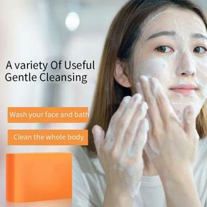 100g Glyceryl Kojic Acid Soap Whitening Removal Makeup Pimple Pore Acne Treatment Cleaner Moisturizing Face Care Wash Soap TSLM1