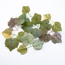 10 sztuk jedwabiu Maple leaf diy prezenty ślubne sztuczne rośliny do dekoracji wnętrz boże narodzenie dekoracyjne wianki z kwiatów bride broszka