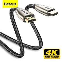 Baseus Cable HDMI 4K a HDMI 2,0, para Monitor de TV, divisor Digital, PS4, con caja, proyector, Displayport, Cable HDMI
