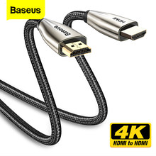 Baseus Hdmi Kabel 4K Naar Hdmi 2.0 Video Kabel Voor Tv Monitor Digitale Splitter PS4 Swith Doos Projector Displayport hdmi Wire Cord(China)