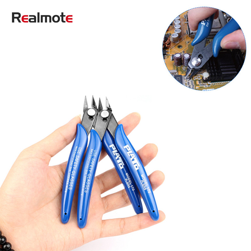 NEWACALOX Mini Precise Pliers Cable Wire Stripper Loop Stripping Terminal Crimp