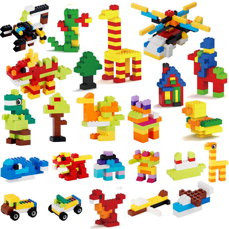 Building Blocks City Classic Brand Creative Bricks Bulk Model Figures Educational Kids Toys Small Size All Available