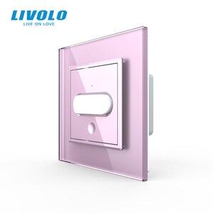 Image 3 - Livolo Interruptor de inducción táctil para el hogar, interruptor de luz de pared estándar europeo, inducción infrarroja, sin logotipo