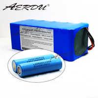 AERDU 36V 10S4P 12.8Ah pour LGEBMH11865 13ah 12ah avec 25A BMS 42V batterie au lithium pack ebike voiture électrique vélo moteur scooter