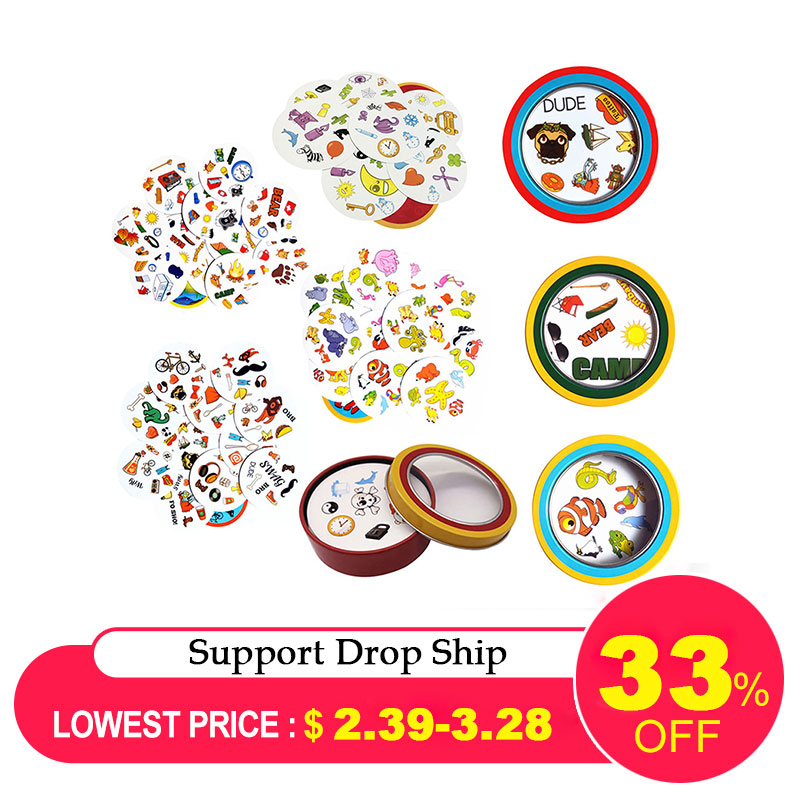 2019 Board Games Cards Toy For Kids Children Playing Goods English Version Most Classic Cards Game