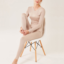 Long johns for women 100% Natural SILK thermal underwear inn