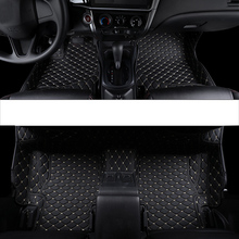 купить lsrtw2017  leather car floor mat for honda city 2019 2018 2017 2016 2015 2014 2013 2012 2011 2010 2009 2008 rug carpet styling онлайн