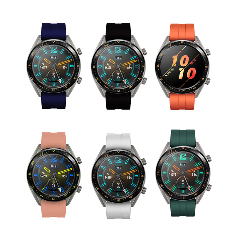 22mm strap for Huawei Watch GT 2 46mm band <font><b>samsung</b></font> gear <font><b>S3</b></font> <font><b>Frontier</b></font> galaxy 46mm band amazfit GTR 47mm <font><b>smartwatch</b></font> Bracelet image