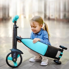 Tricycle Baby Balance-Bike Ride-On-Toys Kids 3-In-1 Christmas-Gifts High-Quality