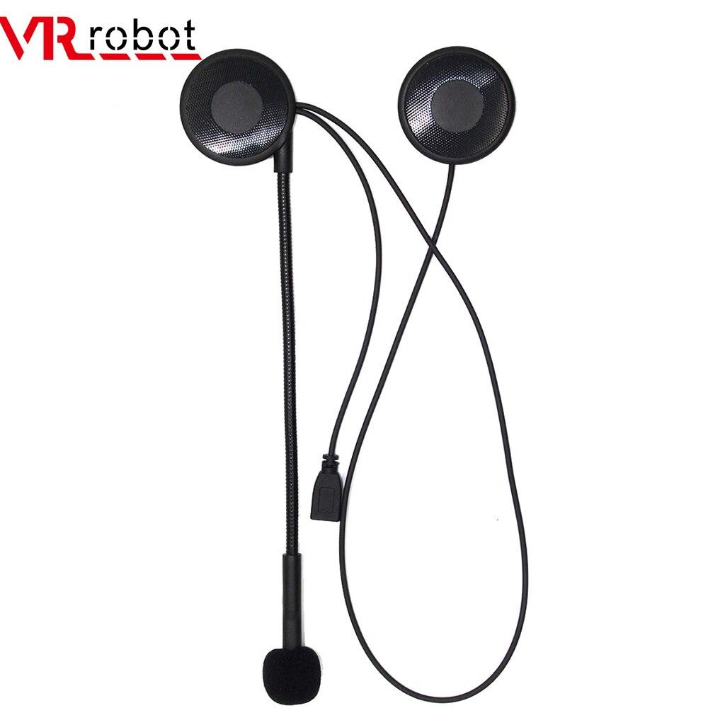 VR Robot Ultra-thin Motorcycle Bluetooth Helmet Headset Wireless Handsfree Earphone Stereo Music Player Helmet Speaker