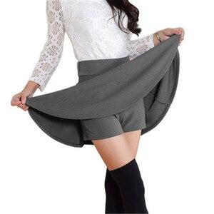 Image 1 - 2020 Tất Cả Đều Phù Hợp Tutu Học Váy Váy Ngắn Cho Nữ Lại An Toàn Mùa Hè Xếp Ly Chân Váy Ngắn Faldas Bầu Mini Hàn Quốc saia Gratis