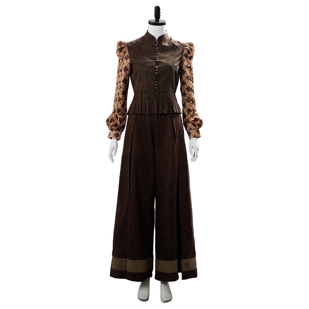 Image 5 - Cirilla Fiona Elen Riannon Costume Ciri Cosplay Dress Full Outfit Halloween Carnival CostumesMovie & TV costumes   -