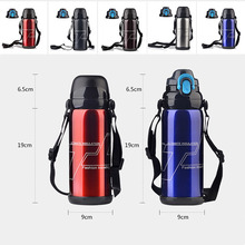 800ml 304 Stainless Steel double-wall Insulated Thermos Bottle Thermo Vacuum Flask Large capacity Thermose Coffee Bottles