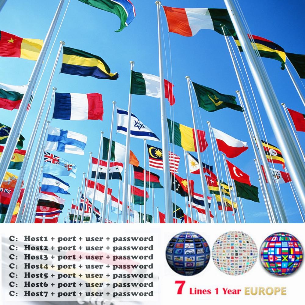 Stable Server  7 Cline Cccam Is Suitable For 1-year European Spain / Germany V8 Super, V7 HD, V7s, IPS2 Satellite Receivers