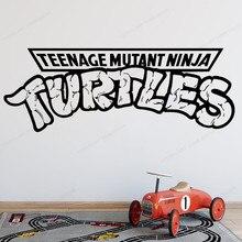Ninja Turtles Wall Decal Boys Room Kids bedroom wallVinyl Sticker Playroom Decor art mural HJ944 полуботинки tm ninja turtles для мальчика