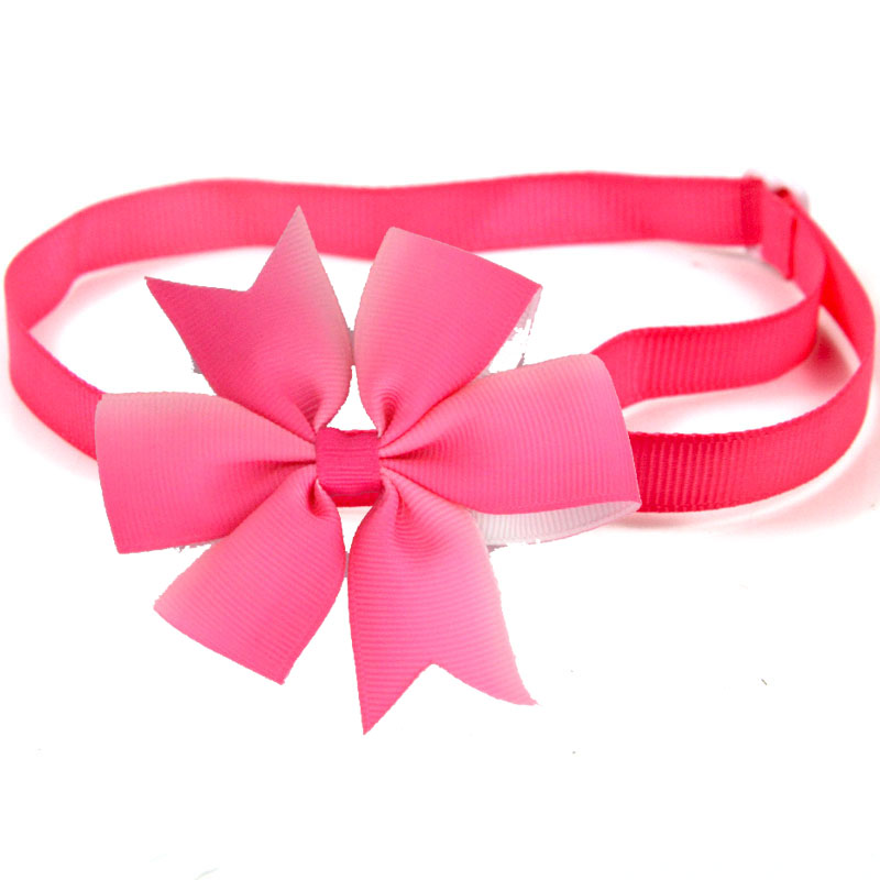 Multifunction Pet Dog Accessories Colorful Flower Design Cat Dog Collar Charms Decoration Dog Bow Tie Pet Grooming Accessories