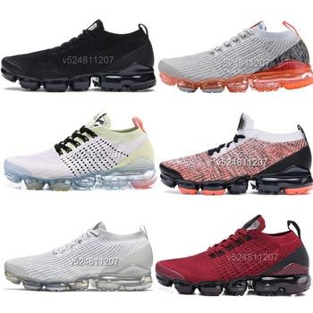 2019 nueva 3,0 hombres zapatos mujeres zapatillas de deporte Zapatillas Oreo deportes correr diseñador zapatos deportivos Zapatos blanco platino puro