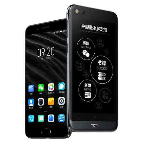 """グローバルバージョンヨタ 3 Yotaphone3 64 グラム/128 3g スマートフォンの android 8.1 octacore dualscreen 5.5 """"fhd 画面 5.2"""" タッチキンギョソウ"""