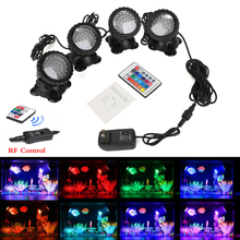 LED Underwater Lights Waterproof Lamp RGB 36leds Underwater Spot Light for Swimming Pool Fountains Pond Water Garden Aquarium 12v led underwater light waterproof rgb underwater lamp swiming pool garden fountains pond water fish tank aquarium spot lights