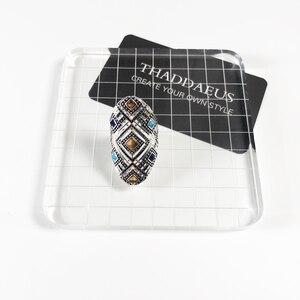Image 2 - خاتم الحلي العرقية ، مجوهرات أنيقة بأوروبا جيدة للنساء ، هدية جديدة لربيع 2020 بوهيمي في 925 من الفضة الإسترليني ، عروض رائعة