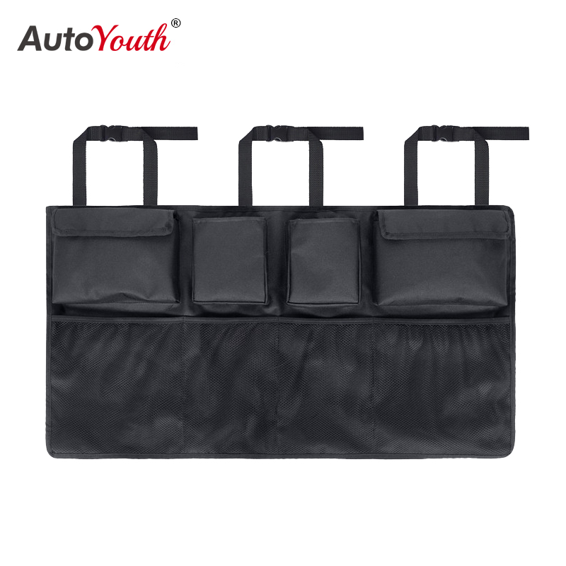 Multifunctional Large-capacity Car Trunk Storage Bag Hanging Oxford Cloth Storage Bag GM's Rear Seat Back Interior Storage Bag