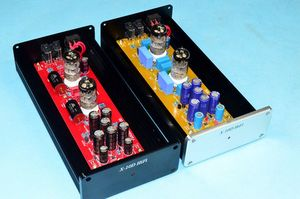 Image 5 - X 10D 2.0 original circuit HiFi 6N11 tube buffer audio signal tube preamplifier With AC12V power adapter