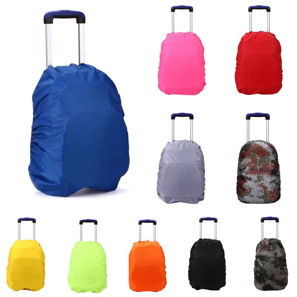 Travel Accessories Unisex 35L Backpack Luggage Rain Cover Outdoor Mountaineer Bag Waterproof Cover Travel Organizer #P