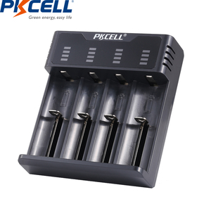 Image 2 - Inteligentna ładowarka do akumulatora PKCELL do 1.2v 3.7v AA/AAA 18650 akumulator NIMH/NICD wskaźniki ładowarki szybkie ładowanie