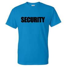Fashion T-shirt Security Solid Color Letter Print Streetwear Men Women O-Neck Casual Tshirt Sport Tees Cotton Shirt Tops Unisex