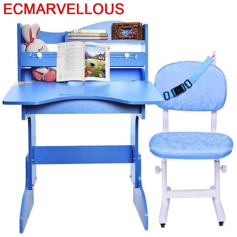 Toddler Tavolo Per Bambini Child Pour Y Silla Avec Chaise Adjustable Mesa Infantil Kinder Bureau Enfant Kids Study Table