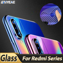 Camera Glass For Xiaomi Redmi Note K30 5G 8 7 Pro 8T 8A Mobile Phone Camera Len Lens Protector Glass Carbon Sticker For Redmi 8T(China)