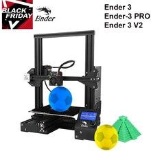 Creality 3D yeni Ender 3 / Ender 3 PRO DIY 3D yazıcı drucker impresora 3D kendinden montajlı 220*220*250mm MeanWell güç stokta