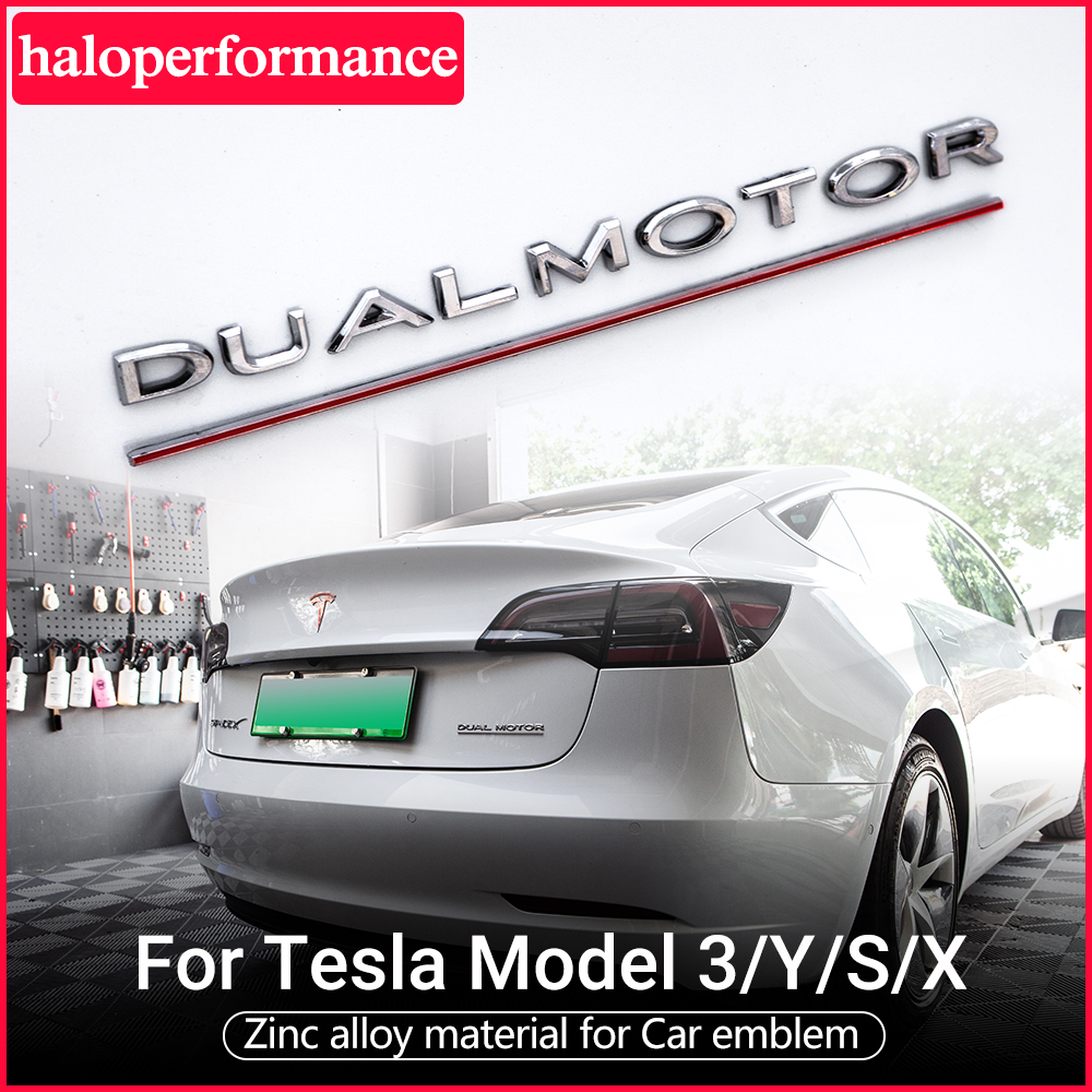 Model3 Car tail letter label For Tesla Model 3 Accessories tail sticker space x tesla model y Tesla Model S Model 3 Tesla logo