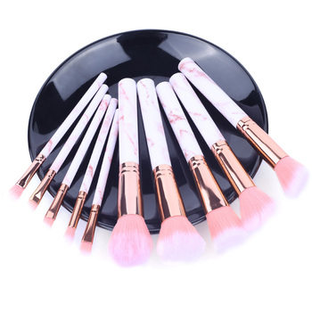 5pcs Soft Set Of Makeup Brushes kits For Highlighter Eye Cosmetic Powder Foundation Eye Shadow Cosmetics Professional Eyebrows