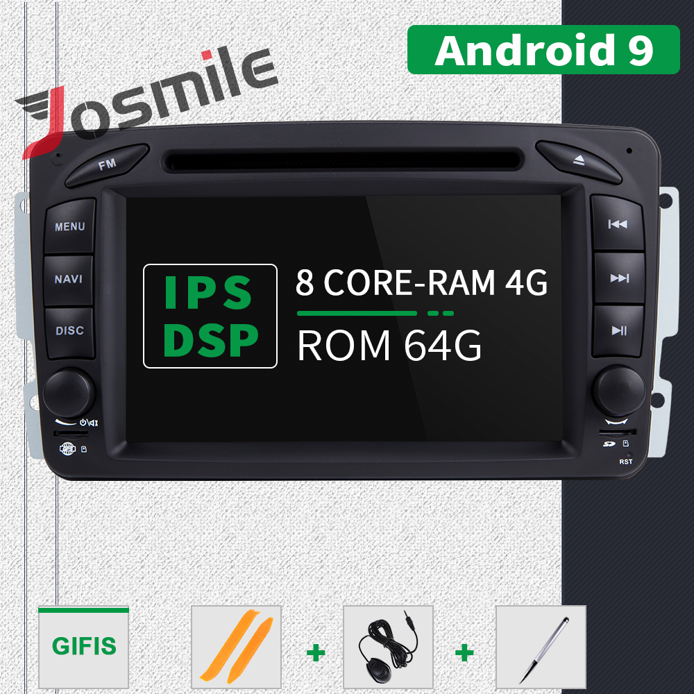 IPS DSP 4GB RAM 2din Android 9 Car DVD Player For Mercedes Benz CLK W209 W203 W463 W208 Multimeida GPS Radio Stereo audio Camera - 3